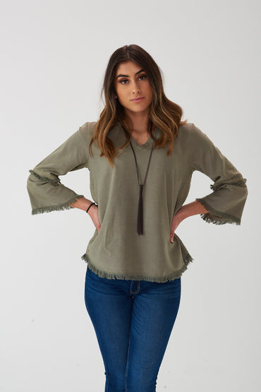 Grove V-Neck Top