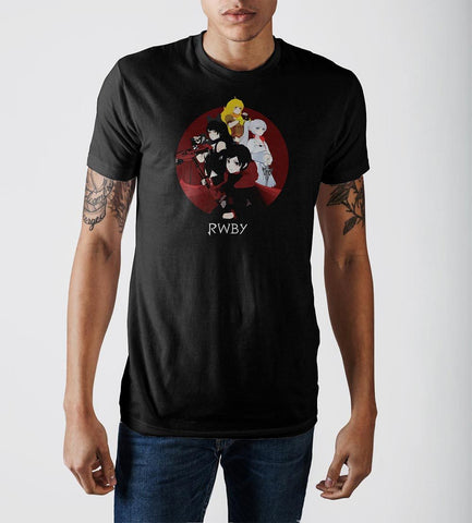 RWBY Black T-Shirt - USA