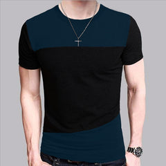 Men's Multi-color Form Fit Intricate Dark Design T Shirt - China