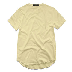 Men's Extended Round Sweep T Shirt - China