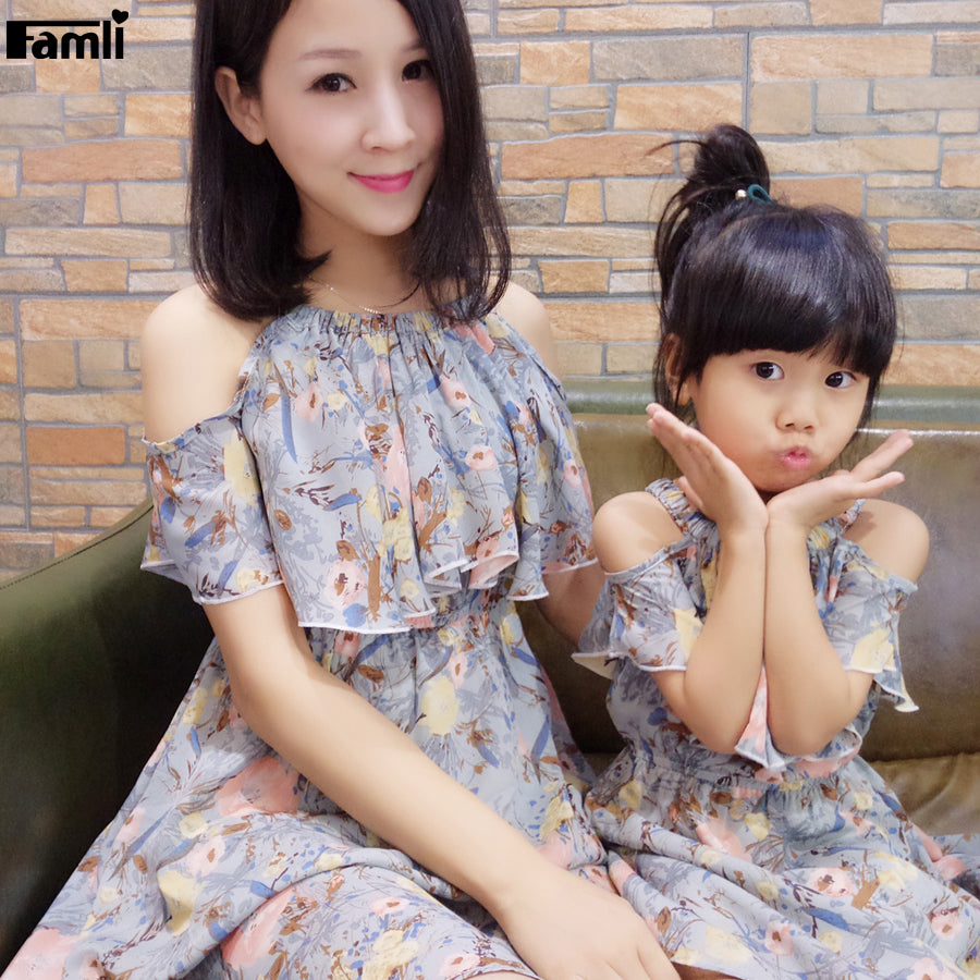 Mommy and Me Cute Matching Outfits - China