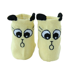 Cute Cartoon Socks for Toddlers. Super Cute - China