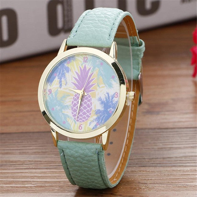 Yes. Pineapple. On a wristwatch. You're Welcome. - China