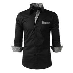Classy Intricate Button Down Shirt for Men - China