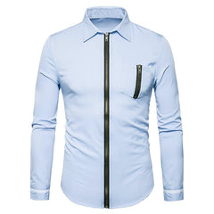 SUPER Classy Men's Button Down Slim Fit Shirt - China