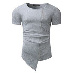 Men's Asymmetrical Zippered Shirt of Awesomeness - China