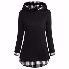 Women's Long Patchwork Pullover - China