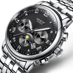 Aesop Stainless Steel Mechanical Watch - China