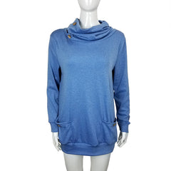 Women's Button Cowl Tunic - US