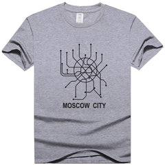 Moscow Metro T Shirt - China