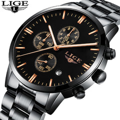 Lige Luxury Mechanical Watch - China