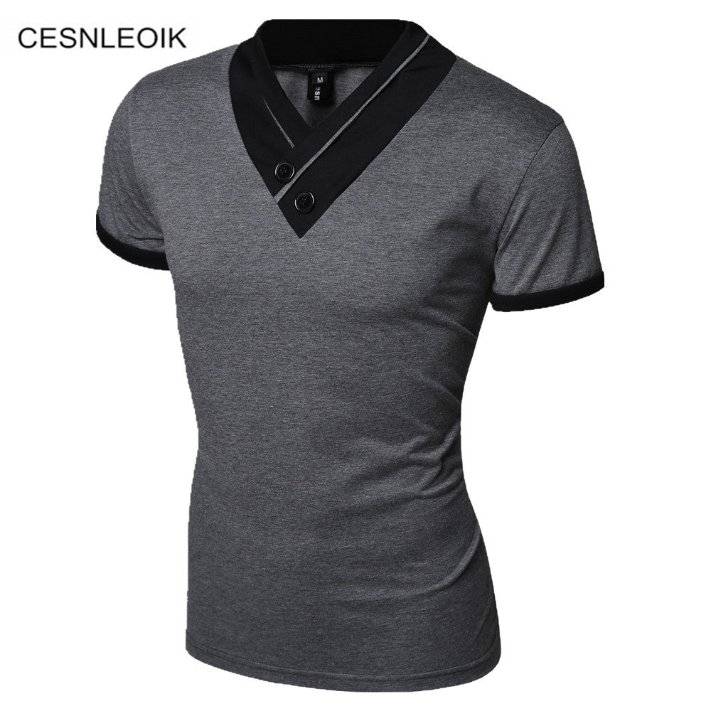 Men's Korean Casual T Shirt - China