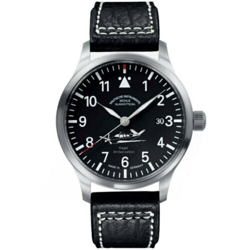 MUHLE-GLASHUTTE TERRASPORT FLIEGER LIMITED EDITION OF 100 REF: M1-37-44-104-LB