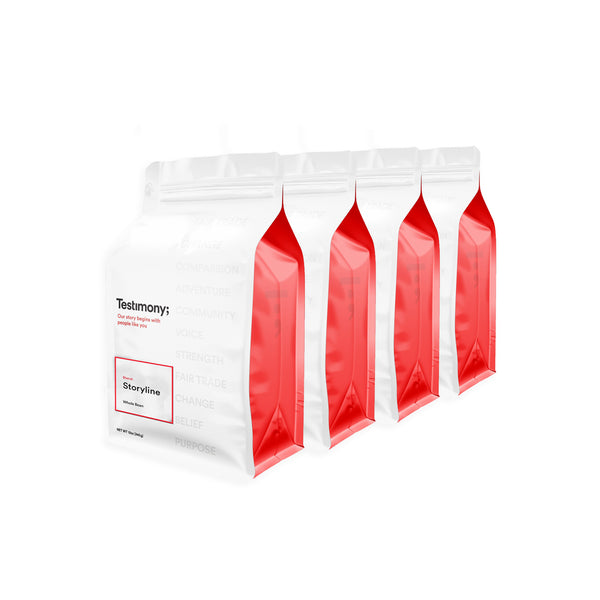 Coffee Subscription: 4 – 12oz bags