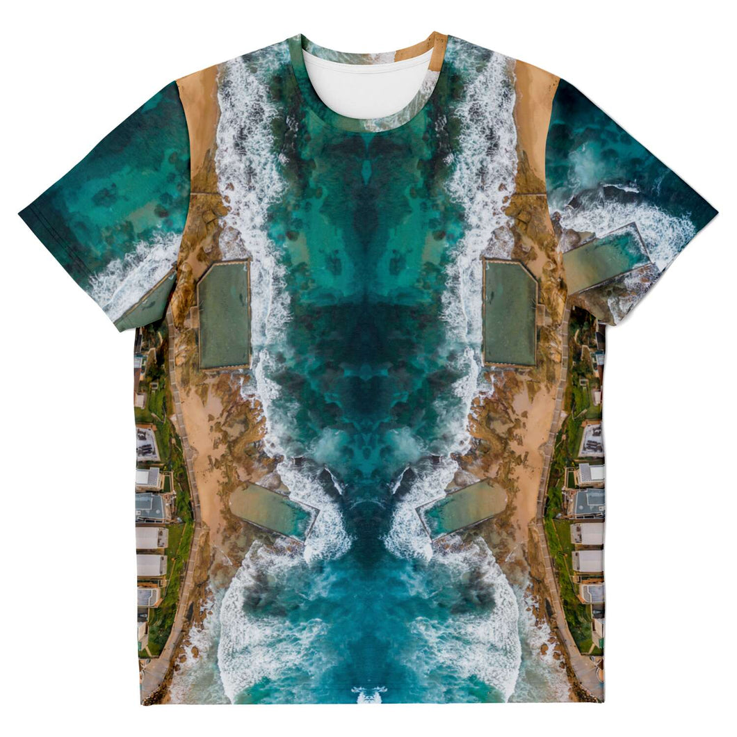 Kess Gallery Cronulla Pools T-Shirt