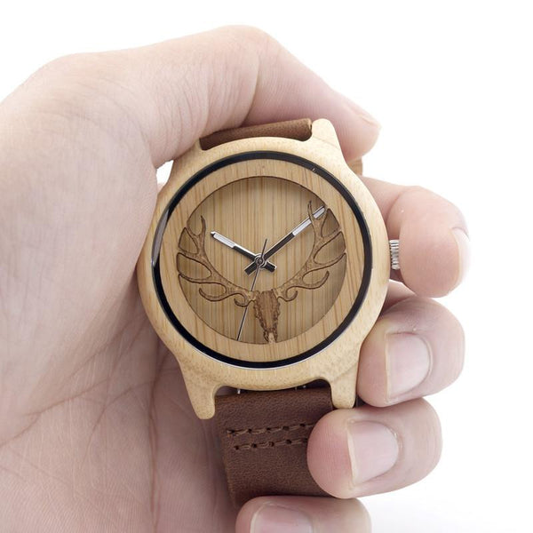 Antler King™ Wood Edition Wristwatch