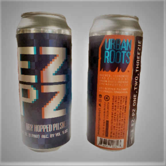 Urban Roots EZPZ Dry Hopped Pilsner