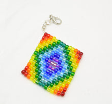 Beaded Fidget Squares - Pocket sized sensory stims for redirecting anxious energy - Kinetic Color Foundry - Fidgets