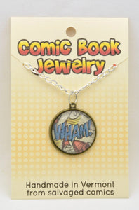 Comic Book Pendants : Sound Effects - Kinetic Color Foundry - Fandom Jewelry