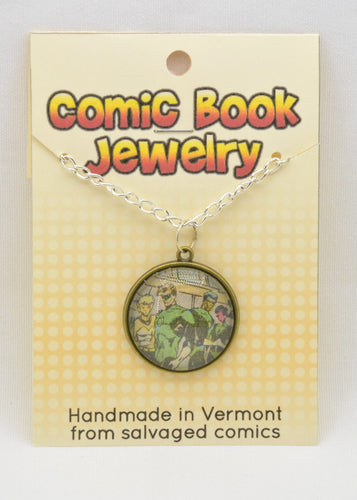 Comic Book Pendants : Green Lanterns - Kinetic Color Foundry - Fandom Jewelry