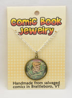 Comic Book Pendants : Green Lanterns - Kinetic Color Foundry