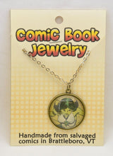 Comic Book Pendants : Green Lanterns