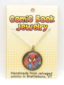 Comic Book Pendants : Spiderman - Kinetic Color Foundry - Fandom Jewelry