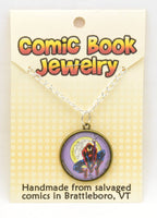 Comic Book Pendants : Spiderman - Kinetic Color Foundry