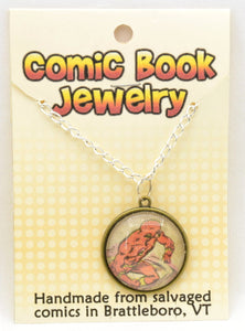 Comic Book Pendants : Mixed - Kinetic Color Foundry - Pendant Necklace