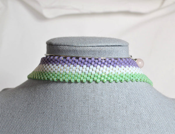 Choker Necklace: Genderqueer (Version A) - Kinetic Color Foundry