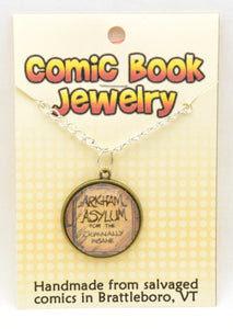 Comic Book Pendants : Art and Logos - Kinetic Color Foundry - Pendant Necklace