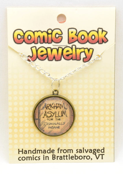 Comic Book Pendants : Art and Logos - Kinetic Color Foundry