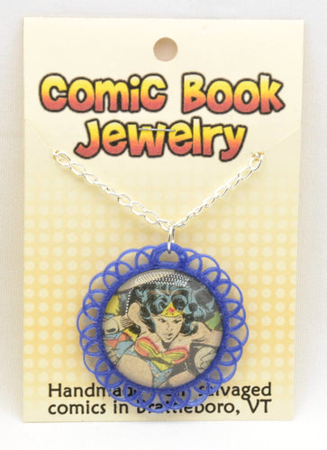 Comic Book Pendants : Wonder Woman - Kinetic Color Foundry - Fandom Jewelry