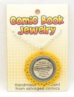 Comic Book Pendants : Nintendo Seal of Quality - Kinetic Color Foundry - Fandom Jewelry
