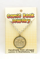 Comic Book Pendants : Insults, Yelling and Melodrama - Kinetic Color Foundry - Fandom Jewelry
