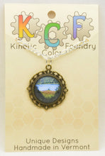Photo Pendants : Brief Glimpses Series - Kinetic Color Foundry - Pendant Necklace
