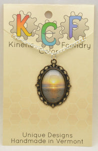 Photo Pendants : Beach Sunrise