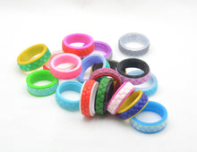 Honeycomb Pattern Fidget Ring - Kinetic Color Foundry - Fidgets
