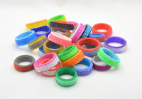 Spiral Pattern Fidget Ring - Kinetic Color Foundry - Fidgets
