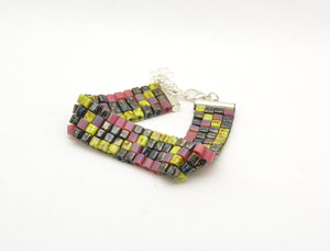 Dark DNA Woven Fidget Bracelet - Kinetic Color Foundry - Bracelet