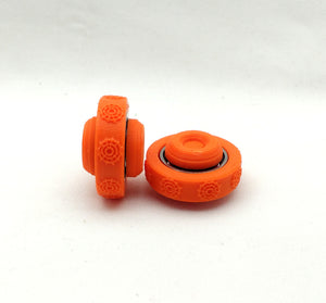 UFO Spinner - Compact and pocket sized. Customizable! - Kinetic Color Foundry - Fidgets