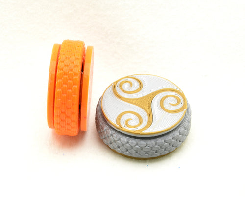 Mini Hand Spinners: customizable, pocket sized fidgets