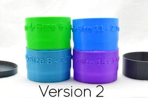 Bead Sorter Cups for low effort separation of multiple sized beads - Kinetic Color Foundry - Beading Supplies and Tools