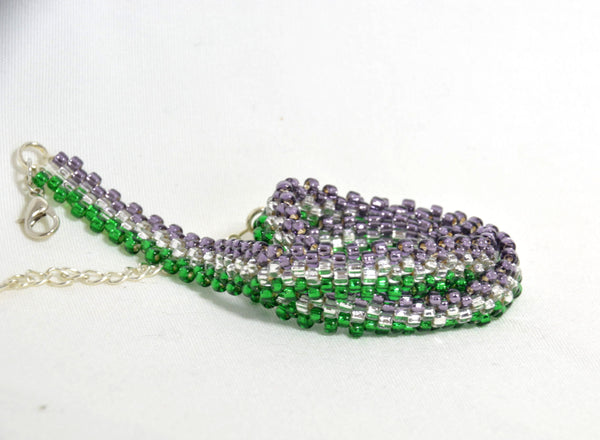 Choker Necklace: Genderqueer (Version D) - Kinetic Color Foundry - Necklace