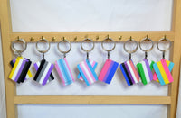 Pride Flag Keychains - Kinetic Color Foundry