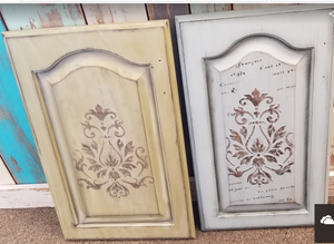 Raised Stencil Doors