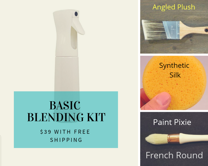 Basic Blending Kit - French Round will be shipped mid August