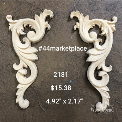 Woodubend #2181 (set of 2) - 44 Marketplace