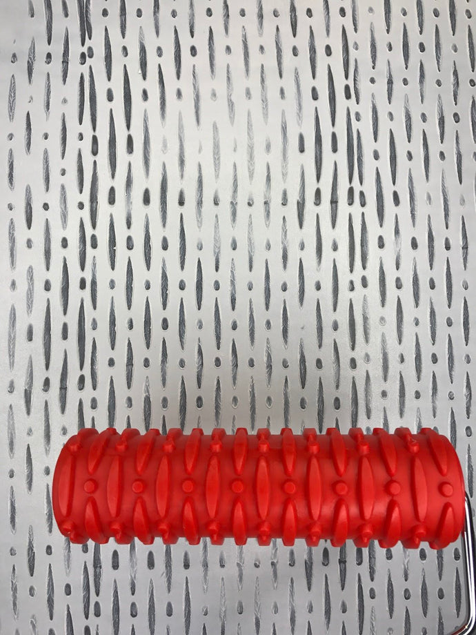 Beaded Curtain Art Roller with handle - 44 Marketplace