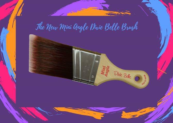 Dixie Belle Synthetic Brush Mini Angled - 44 Marketplace